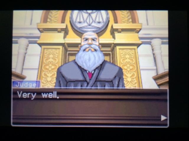 逆転裁判 北米版 エッジワースの異議24