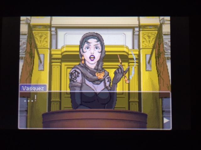 逆転裁判 北米版 エッジワース検事の反対尋問10