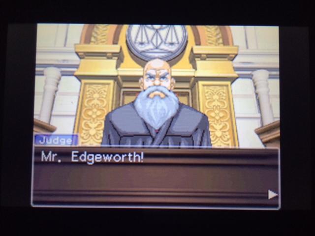 逆転裁判 北米版 エッジワース検事の反対尋問11