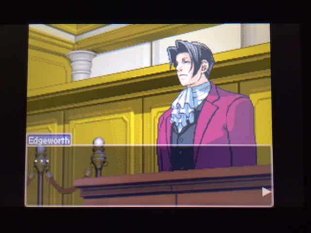逆転裁判 北米版 エッジワース検事の反対尋問12