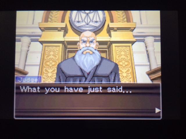 逆転裁判 北米版 エッジワース検事の反対尋問13
