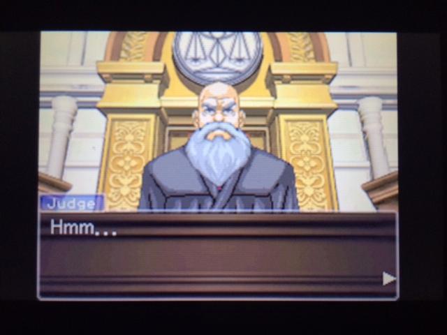 逆転裁判 北米版 エッジワース検事の反対尋問25
