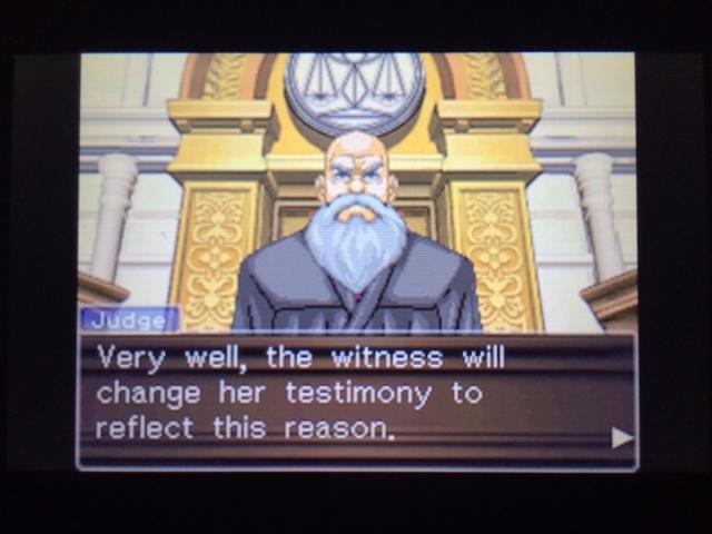 逆転裁判 北米版 エッジワース検事の反対尋問26