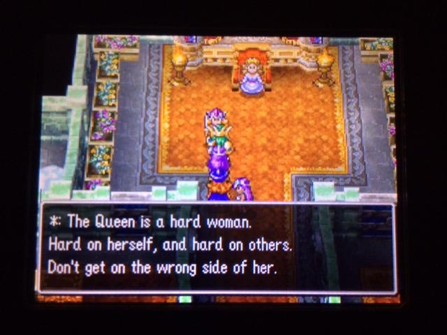ドラクエ4 北米版 女王国フェミスキュラ32