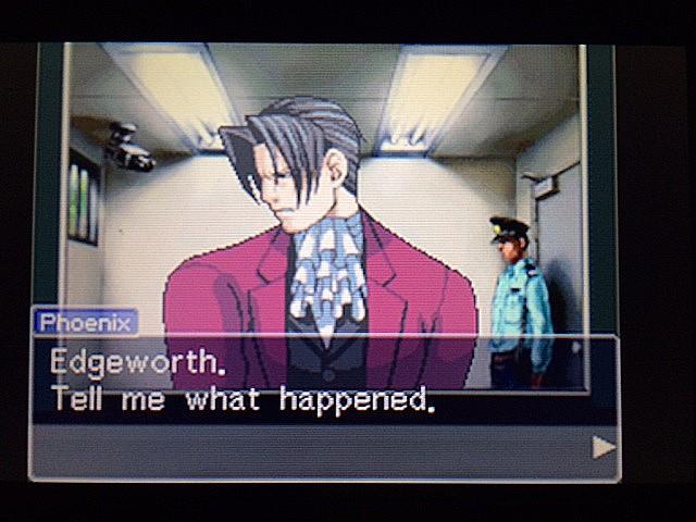 逆転裁判 北米版 黙して語らぬエッジワース3