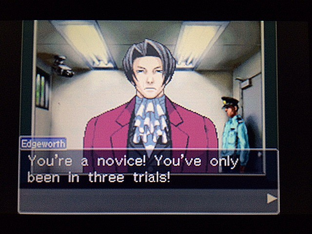 逆転裁判 北米版 黙して語らぬエッジワース11