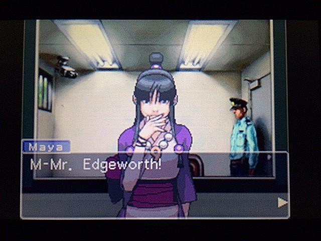 逆転裁判 北米版 黙して語らぬエッジワース25