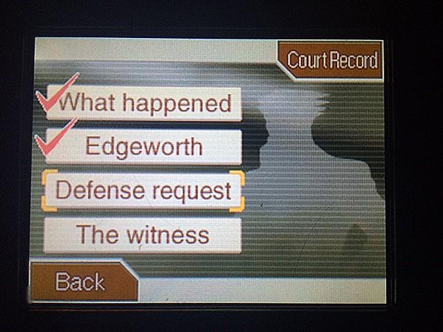 逆転裁判 北米版 エッジワースの弁護士問題2