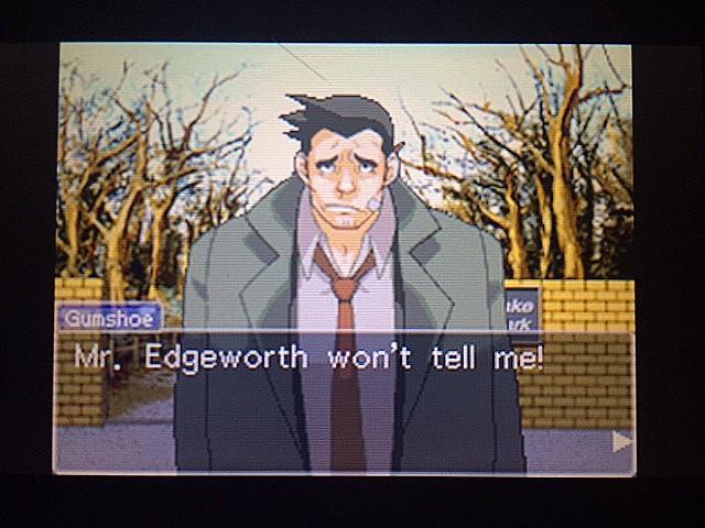 逆転裁判 北米版 エッジワースの弁護士問題9