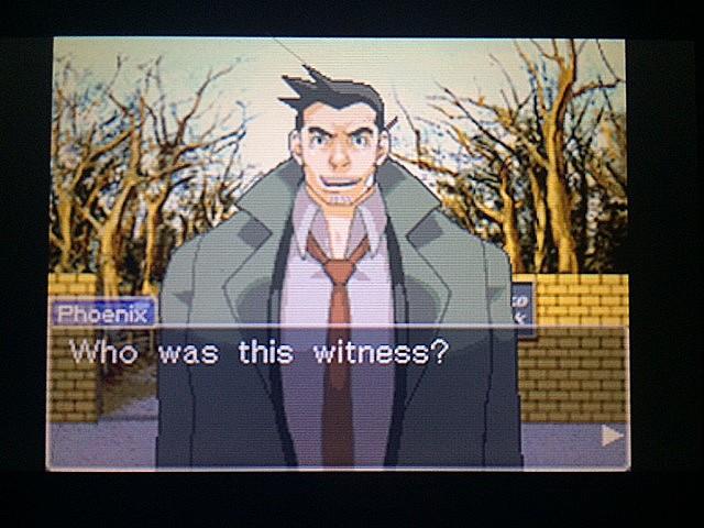 逆転裁判 北米版 目撃者3