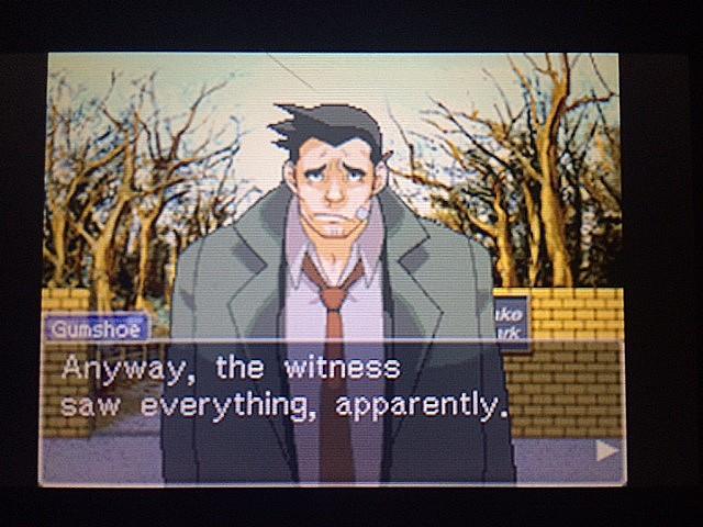 逆転裁判 北米版 目撃者5