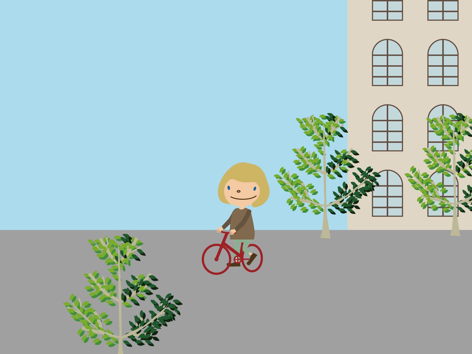 自転車壁紙1600×1200
