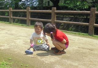 ブログ2 0722水遊び (1)
