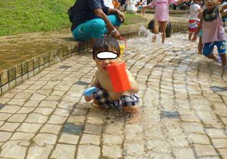 ブログ2 0724水遊び (3)