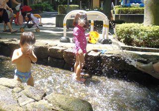 ブログ2 0728水遊び