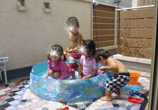 ブログ2 0730水遊び