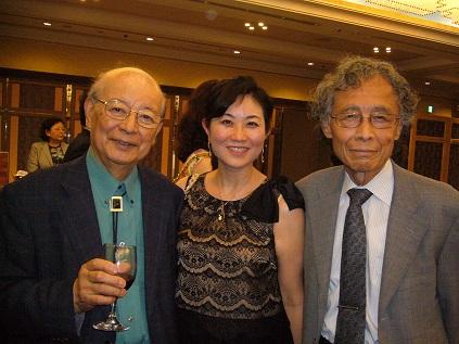 野田弘志先生、加賀乙彦先生