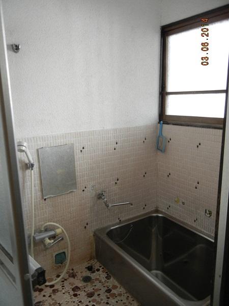 O様邸 洗面所、浴室のリフォーム工事。その5