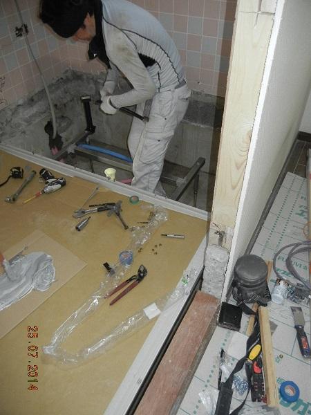 N様邸 浴室改修工事 その3