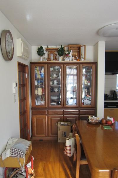 キッチン食器棚リフォーム