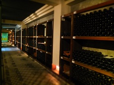 地下ワイン蔵