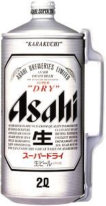 アサヒ 2Lミニ樽