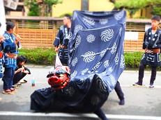 2014七夕 獅子舞踊り ヨコ