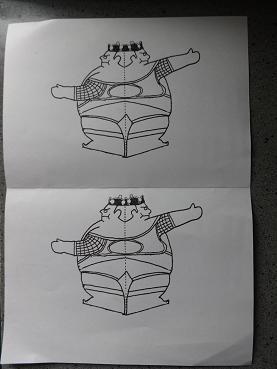 モンゴル紙相撲
