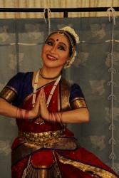 インド舞踊舞台マユリ・ユキコ 20140721ガールズインドパーティ