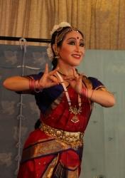 インド舞踊舞台マユリ・ユキコ 20140721ガールズインドパーティ2