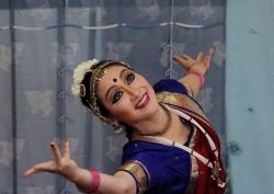 インド舞踊舞台マユリ・ユキコ 20140721ガールズインドパーティ4