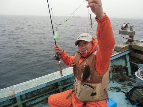 陸奥湾カレイ釣り3