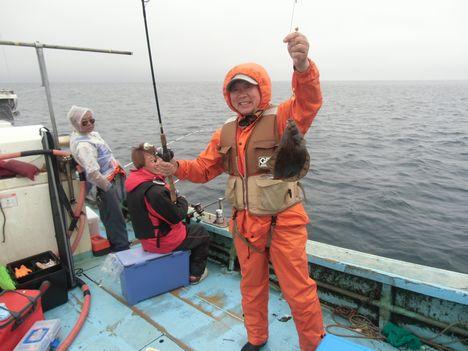 陸奥湾カレイ釣り7