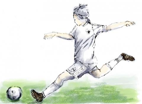 サッカー女子