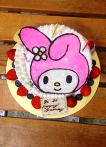 あみバースデーケーキ