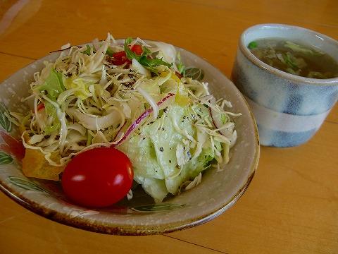 サラダ&スープ 14.3.21