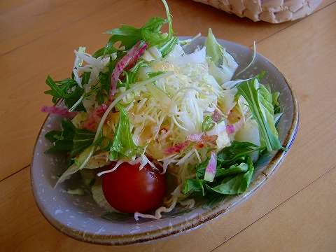 サラダ別盛り~ 14.3.29