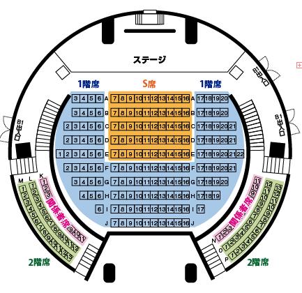 東京WP座席表