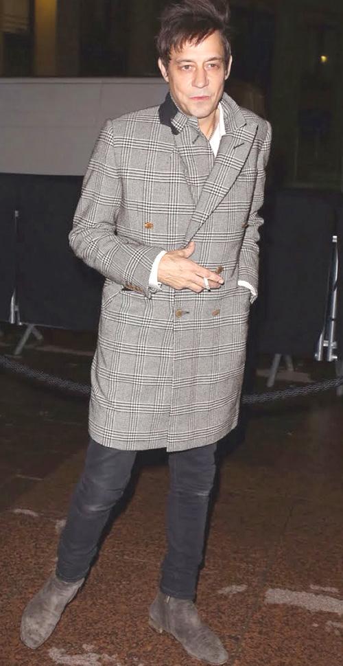 ジェイミー・ヒンス(Jamie Hince):アレキサンダーマックイーン(Alexander McQueen)