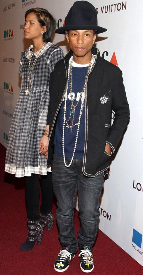 ファレル・ウィリアムス(Pharrell Williams):シャネル(CHANEL)/ビリオネアボーイズクラブ クラブ(BILLIONAIRE BOYS CLUB)
