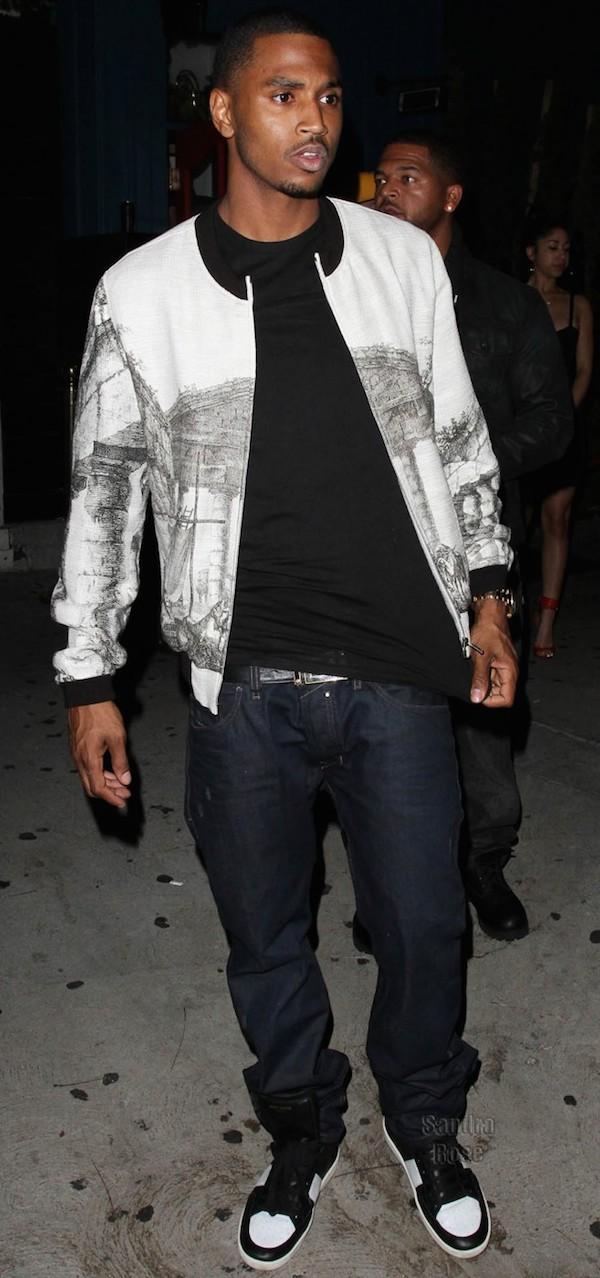 トレイ・ソングス(Trey Songz):ドルチェ&ガッバーナ(Dolce & Gabbana)/サンローラン(Saint Laurent)