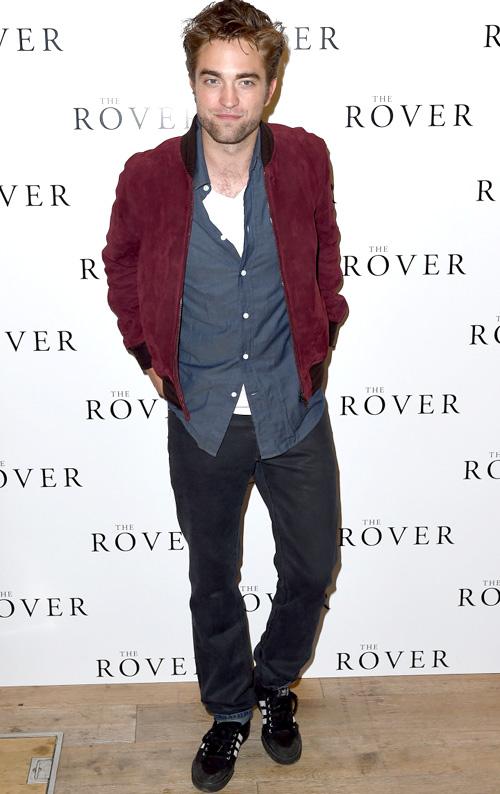 ロバート・パティンソン(Robert Pattinson):グッチ(GUCCI)アディダス(Adidas)