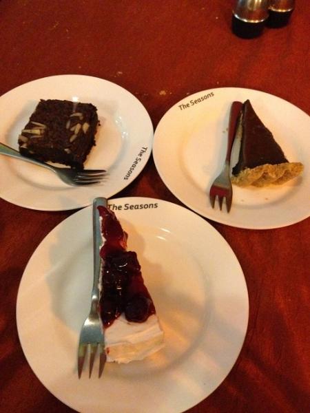 シーズンズケーキ
