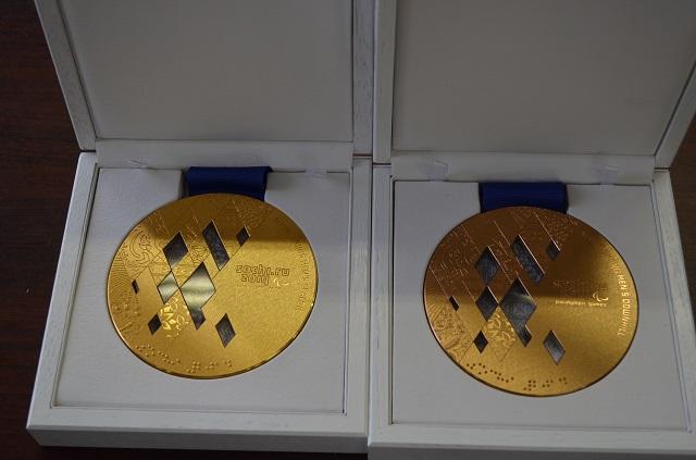 ソチのメダル