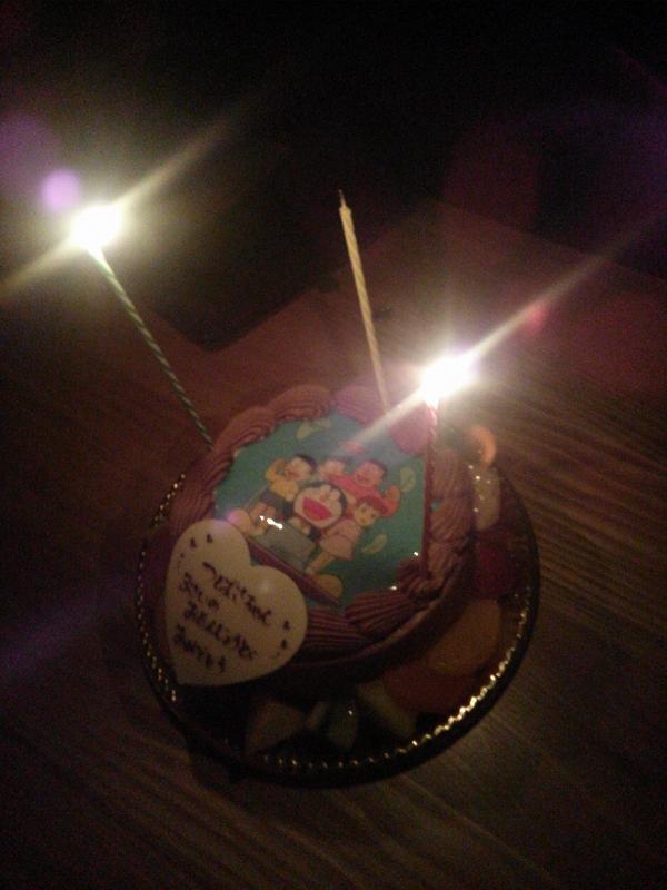 長女誕生日ケーキ