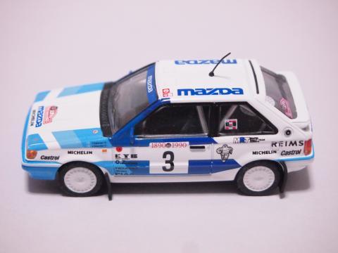 CM's マツダ323 1990モンテカルロ