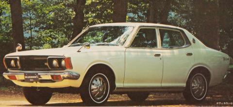 ブルーバードU DX 74年4月