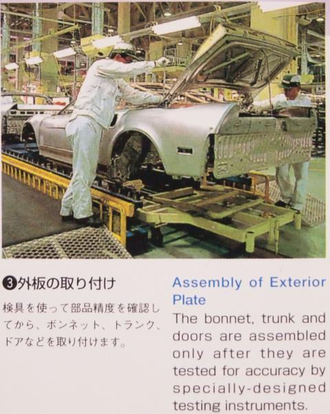 NSXの生産プロセス