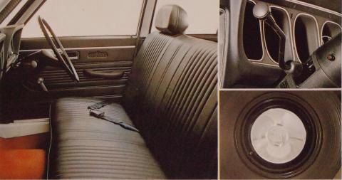 71年9月 ギャランセダン14L STD 装備