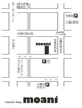 moani 地図